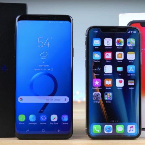 Iphone X ile Samsung Galaxy S9 Plus Karşılaştırması